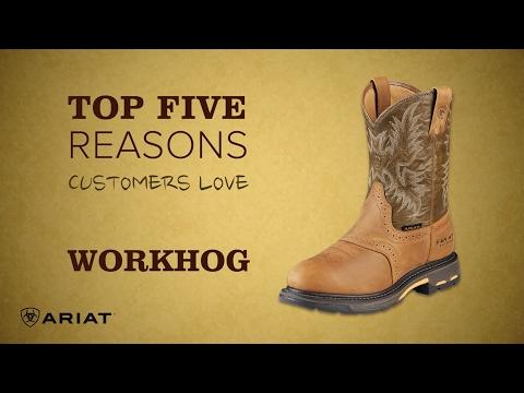 Top 5 - Ariat Workhog Boot
