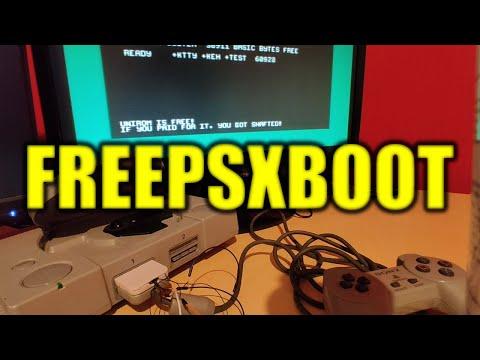 FREEPSXBOOT el nuevo hack de la Playstation 1