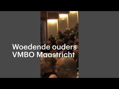 Woedende ouders schreeuwen tijdens informatieavond over afgekeurde examens - RTL NIEUWS