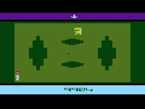 E.T. the Extra-Terrestrial para Atari 2600 - Review de RETROJuegos by Fabio Didone