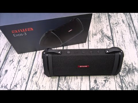 Aiwa Exos 3 VS JBL Charge 5 - Battle Of The Bluetooth Speakers