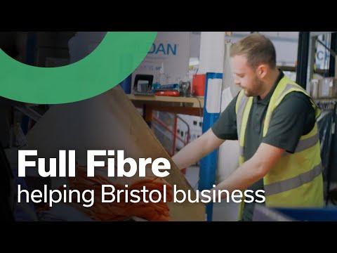 Full Fibre helping business in Bristol