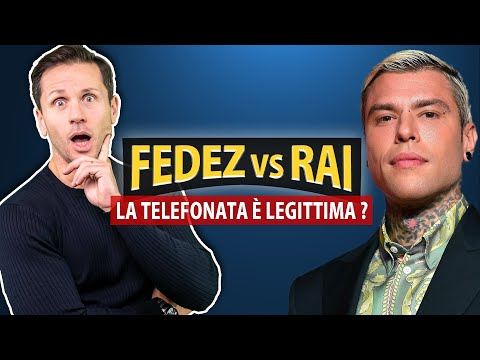 FEDEZ vs RAI: la TELEFONATA è illegittima?   Avv. Angelo Greco