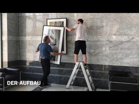 Vernissage Vertical - Horst Hamann porträtiert Mannheimer Versicherung