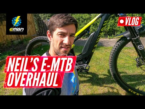E-MTB Overhaul & Electronic Shifting Hack | Neil's EMBN Vlog