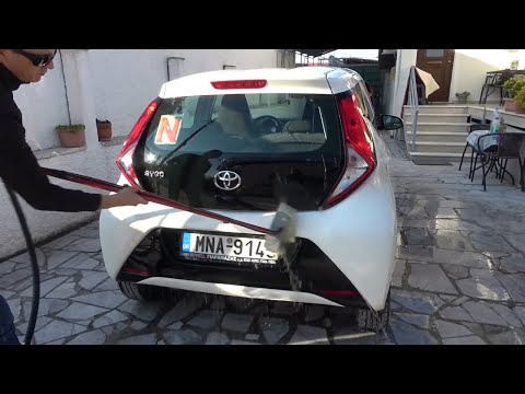 TOYOTA AYGO 2020 cleaning time