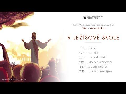 V Ježíšově škole... se poslouchá