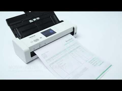 Pieni ja tehokas ADS-1700W -asiakirjaskanneri | Brother