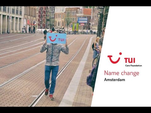 TUI Name change Amsterdam