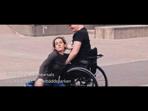 Skånes Dansteater, UNCHARTED, repetitioner, intervju / rehearsals, interview Marie Lander