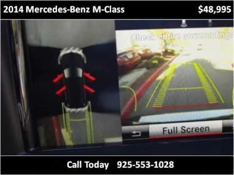 2014 Mercedes-Benz M-Class Used Cars San Ramon CA
