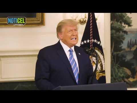 Donald Trump reconoce su derrota pero advierte el viaje apenas comienza