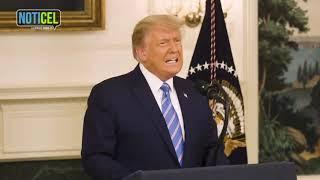 Donald Trump reconoce su derrota pero advierte