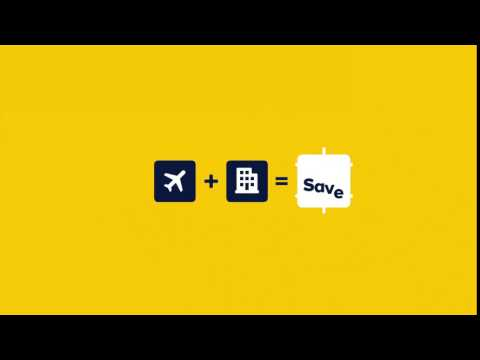 Expedia/Flight + Hotel = Save. It's a wonderful world (10's)