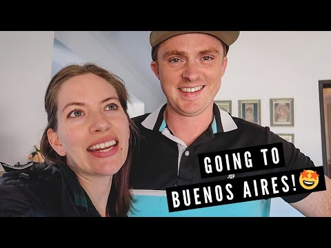 Travelling to BUENOS AIRES: 15+ Hour Overnight Bus Ride in ARGENTINA + Eating DELICIOUS BURGERS!