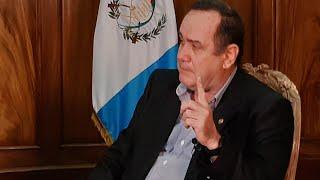 Presidente Alejandro Giammattei se refirió a las acciones para la contención del COVID-19
