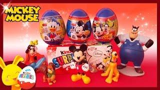 Mickey Mouse – Œufs surprises kinder pour enfants – Surprise Eggs Disney – Titounis
