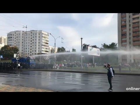 Decenas de miles de manifestantes desafían a Lukashenko en Minsk