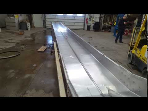"""Used Cardwell Vib-o-vey 24"""" x 33'-8""""L Stainless Steel Vibrating Shaker Conveyor"""