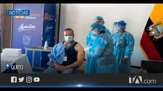 Inició la primera fase de vacunación contra el covid-19 en Quito