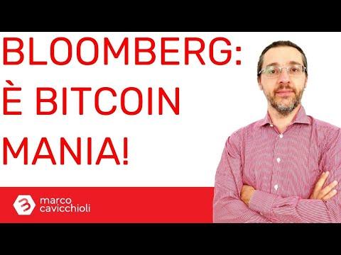 """Sta sbocciando una nuova """"Bitcoin mania""""? (Lo dice Bloomberg...)"""