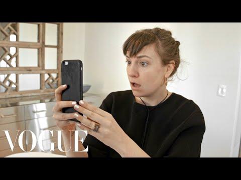 Lena Dunham Test Drives the Brow Microblading Trend | Vogue