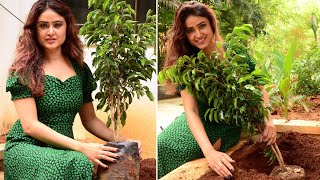 Sony Charishta Planted Trees at her Home | Green India Challenge -  Latest Tollywood News | TFPC - TFPC