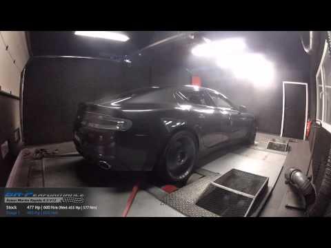 Reprogrammation Moteur Aston Martin Rapide 6.0 V12 477hp (Réel: 455hp) @ 483hp par BR-Performance