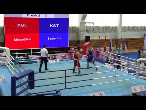 VIII МТ по боксу среди мужчин на призы ЗТРК Вахитова Р.Г, в г. Павлодар. (ФИНАЛ)