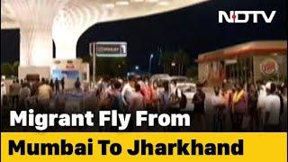 Law School Alumni, IIT Bombay Help 180 Migrants Fly To Jharkhand - NDTV