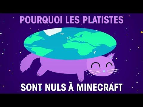 Pourquoi les platistes sont nuls à Minecraft
