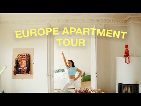 I MOVED TO EUROPE - APARTMENT TOUR! 🏡   MyLifeAsEva
