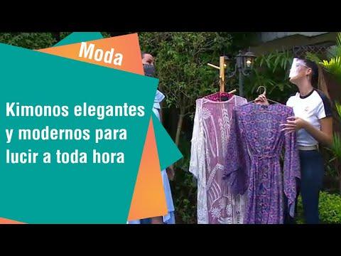 Kimonos elegantes y modernos para lucir a toda hora del día | Moda