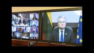 Prezidentas dalyvauja vaizdo konferencijoje Lietuvos mokslo ir inovacijų politikos stiprinimo tema