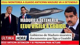 Anticipan detencion de Guaido EEUU actuaria contra Maduro