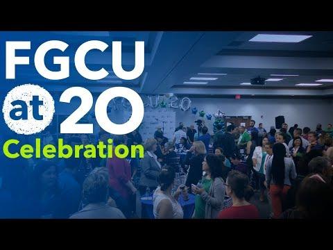 FGCU 20th Anniversary Celebration