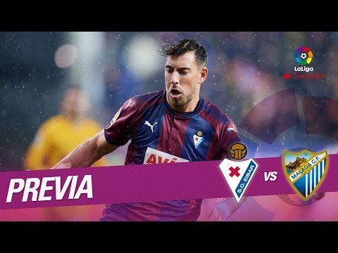 Previa SD Eibar vs Málaga CF
