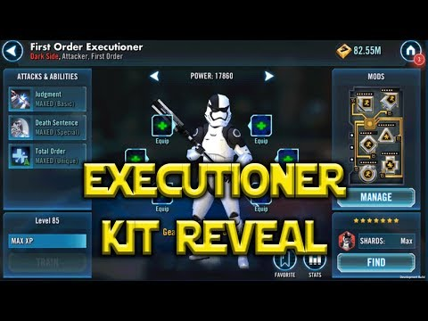 Executioner First Order Kit Reveal | Star Wars: Galaxy of Heroes - SWGoH