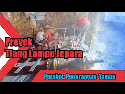 Proyek Tiang Lampu Surya Jepara