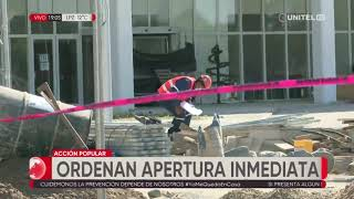 La justicia ordena la apertura inmediata del Hospital de Montero