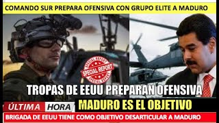 Tropas de EEUU preparan una ofensiva militar contra Maduro