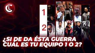 ¿EQUIPO QUE GANARÁ LA GUERREA  LAPIZ, TOXIC,MUSICOLOGO,QUIMICO VS MOZART,EL ALFA, ROCHY, SHELOW