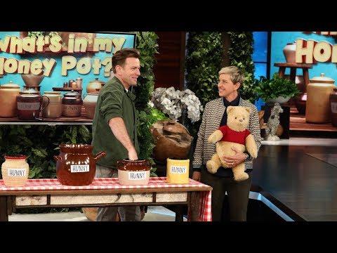 Ewan McGregor Plays 'What's in My Honey Pot?'