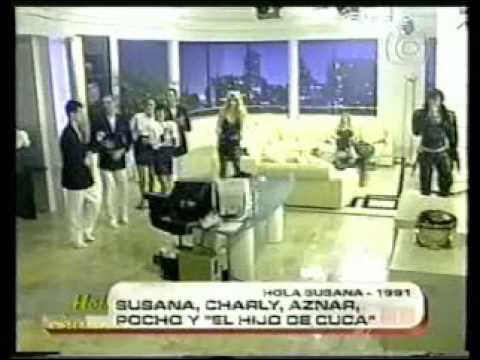 Charly Garcia Con Pedro Aznar y Pocho la Pantera 1991