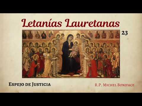 23 Espejo de Justicia   Letanías Lauretanas