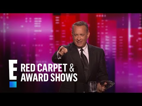 connectYoutube - Tom Hanks is The People's Choice for