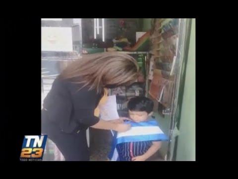 Maestra demuestra el gran amor que siente por sus alumnos