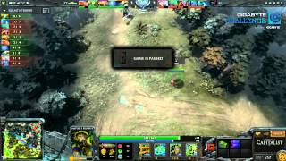 Team Tinker vs SS Game 2 - GIGABYTE Challenge - @DotaCapitalist
