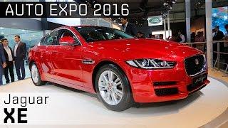 2016 Jaguar XE :: 2016 Auto Expo WalkAround video :: ZigWheels India
