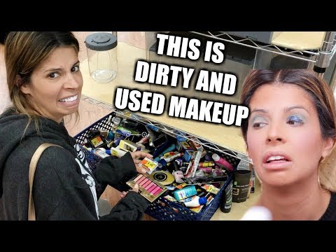 connectYoutube - FULL FACE OF WALMART CLEARANCE MAKEUP | A MESS...